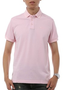 InStyle Republic Men / Unisex Polo T-Shirt (Pink)