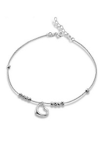 Vivere Rosse First Love 925 Sterling Silver Anklet JA0003