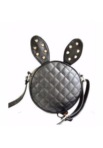 Bunny Rabbit Ear Artificial Leather Cute Purse Sling Bag