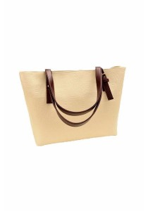 Korean Casual Oracle PU Leather Shoulder Handbag Tote Bag 312