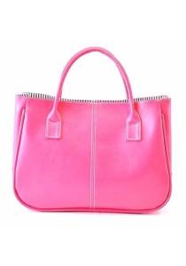 Korean Fashion Shine PU Leather Handbag Tote Bag 315
