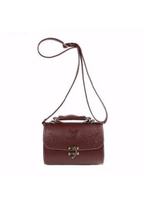 Fashion Retro Carving PU Leather Sling Bag 316