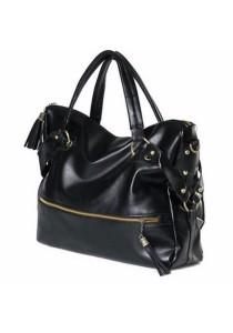 Fashion Rivet PU Leather Sling Bag Tote Bag 320
