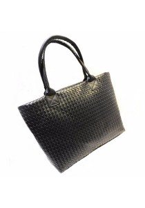Fashion Weave PU Leather Shoulder Tote Bag 322
