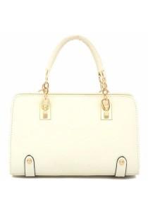 Fashion Cross Pattern PU Leather Shoulder Sling Bag 323
