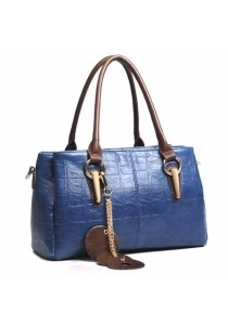 Premium Artificial Crocodile Leather Shoulder Sling Bag Handbag Tote Bag 325