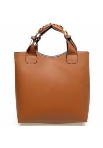 Fashion 2 Pieces Bag in Bag PU Leather Sling Bag Handbag Tote Bag 329