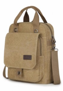 2 Style Canvas Bag Ipad Tablet Messenger Sling Bag Backpack 334