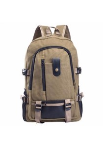 Stylish Unisex Multi Compartment Canvas Backpack 520
