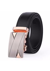 Dante Premium Leather Automatic Buckle Men's Belt 804