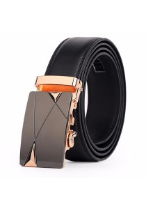 Dante Premium Leather Automatic Buckle Men's Belt 806