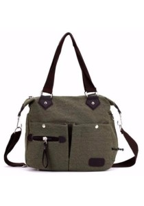 Retro Fashion Canvas Shoulder Bag