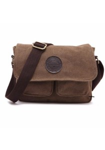 XBD Retro Cotton Canvas Bag Shoulder Messenger Satchel Handbag 303