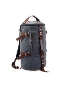 Cylinder Canvas Backpack XBD B022