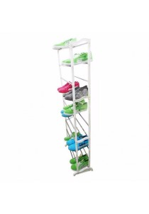Space-saving 10 Level Shoe Storage Rack