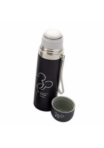Stainless Steel Vacuum Insulated Thermos Flask (Black)