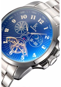 Ik Colouring Flywheel Men Automatic Movement Mechanical Watch