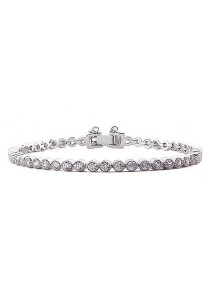 Vivere Rosse L'amore Tennis Bracelet JB0003