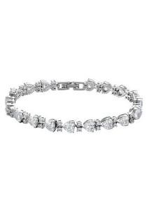 Vivere Rosse Lovey Dovey Diamond Simulant Bracelet JB0009