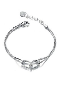 Vivere Rosse L.O.V.E Cubic Zirconia Bracelet JB0016