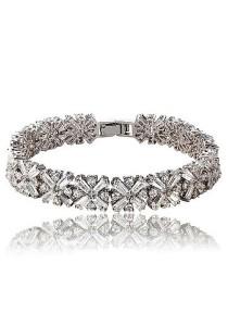 Vivere Rosse Rainbow of Love Diamond Simulant Bracelet JB0018
