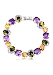 Vivere Rosse Simply Gorgeous Cubic Zirconia Bracelet JB0022