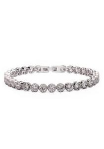 Vivere Rosse Sparkling Beauty Bracelet (Silver) JB0024