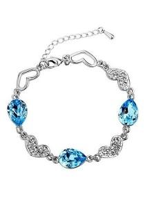 Vivere Rosse Ocean Love Cubic Zirconia Bracelet JB0026