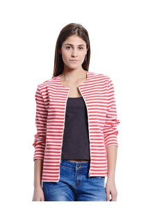 Striped Jacket (Red)