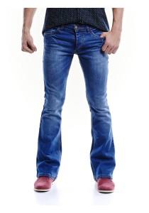 Indigo Bootcut Jeans (Indigo)