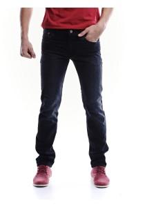 Black Regular Fit Jeans (Black)