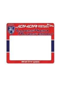 FASHION TEE Limited Stock JDT Johor Southern Tigers Road Tax Sticker (Red)