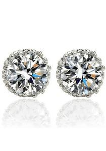 Vivere Rosse Perfect Love Diamond Simulant Stud Earrings JE0021