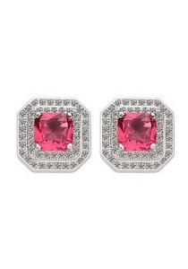 Vivere Rosse Allure Stud Earrings (Red) JE0052-R