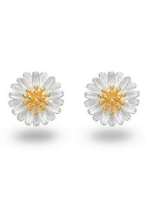 Vivere Rosse Daisy Delight Earrings (Silver) JE0060