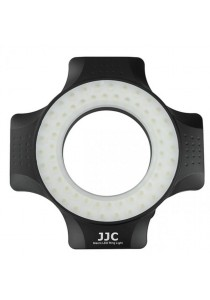 JJC LED-60 Macro Ring Flash LED Light for DSLR Camera (With Adaptor Ring)