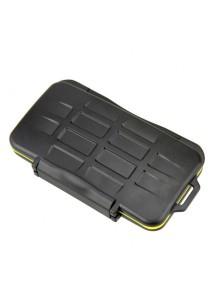 JJC MC-CF6 Waterproof Sealed Memory Card Case Holder for 6pcs CF Memory Card