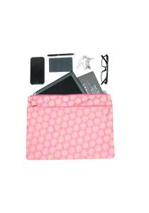Gin & Jacqie Jalan Jalan Folder Leaf Pink LM01-LP