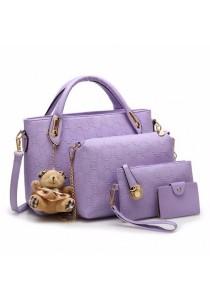 {JMI} 5-in-1 Luxurious Elegance Handbag