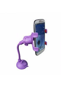 Universal Smartphone Car Mount Long Arm B (Purple)