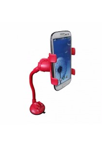 Universal Smartphone Car Mount Long Arm B (Red)
