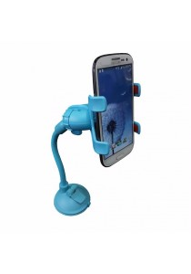 Universal Smartphone Car Mount Long Arm B (Sky Blue)