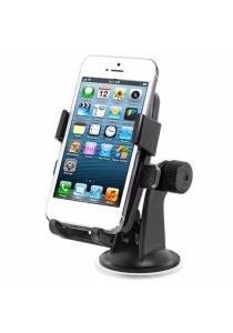JMI Easy One Touch Car Mount Car Holder (Black + Orange Pad)