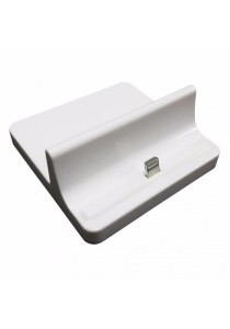 Charging Dock Lightning for iPad 4/iPad Mini/iPad Air (White)