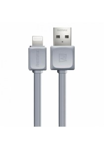 Remax RC-008i Fast Series Data Cable 1 Meter iPhone Lightning 8 Pins (Grey)