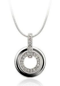 Vivere Rosse Trinity Necklace (Silver) JN0024