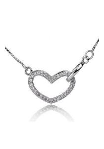 Vivere Rosse Endless Love 925 Sterling Silver Necklace JN0032