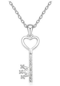 Vivere Rosse Liberty Necklace (Silver) JN0053