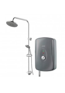 JOVEN Water Heater Instant Pump with Rainshower (Grey)