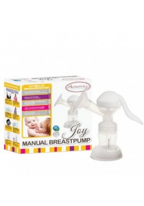 Autumnz - JOY Manual Breast Pump Free Ultrasoft Silicone Massage Breast Shield / Ergonomic Design